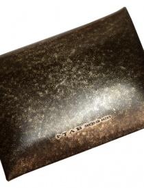 Porta monete Ptah in pelle con sfumature dorate portafogli acquista online