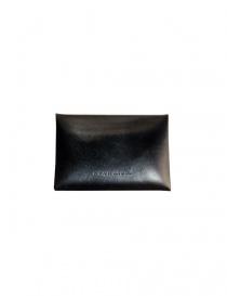 Porta monete Ptah in pelle colore navy
