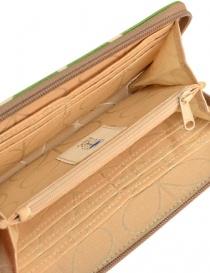 Orla Kiely green fabric wallet wallets buy online