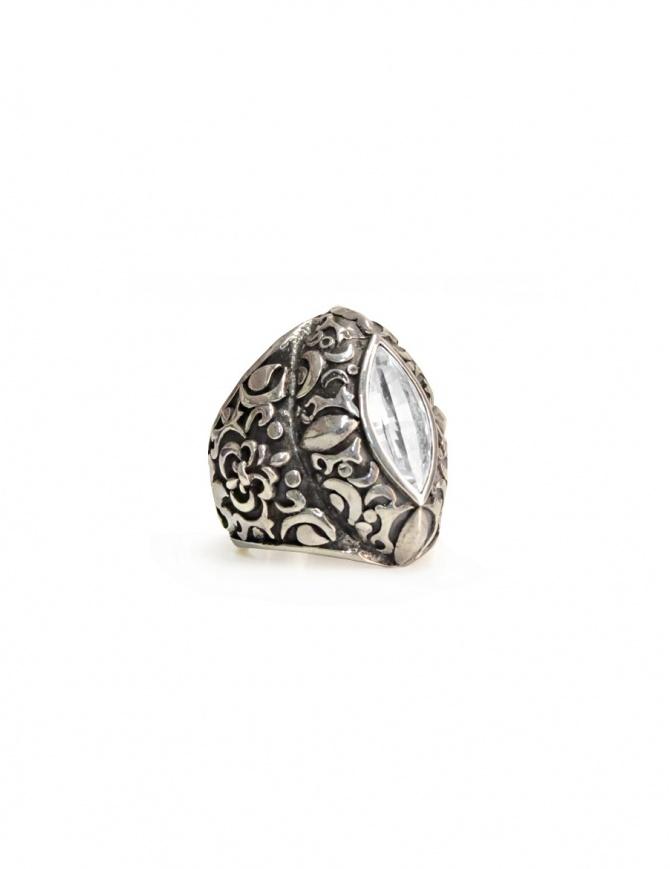 Anello ElfCraft con gemma marquise zirconia 800.397 RING L.60 preziosi online shopping
