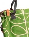 Borsa Orla Kiely in tessuto verde mela 15AELIN100 APPLE acquista online