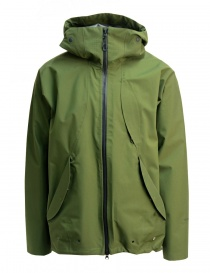 Goldwin Hooded Spur coat green short jacket online