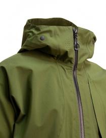 Giacca corta Goldwin Hooded Spur coat colore verde prezzo