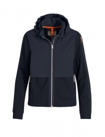 Womens jackets online: Parajumpers Yae navy blue jacket