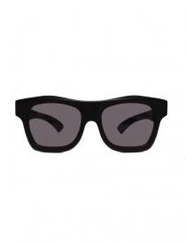 Paul Easterlin Newman flat black sunglasses online