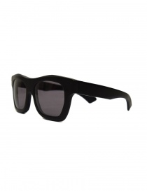 Paul Easterlin Newman flat black sunglasses