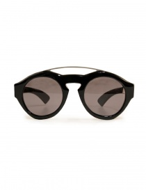 Glasses online: Paul Easterlin Woody shiny black sunglasses
