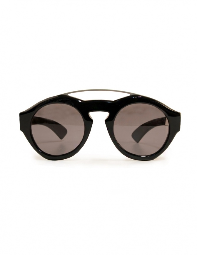 Paul Easterlin Woody shiny black sunglasses WOODY BLACK LUCIDO glasses online shopping