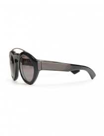Paul Easterlin Woody shiny black sunglasses