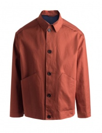 Mens suit jackets online: Golden Goose Gary jacket in brick color