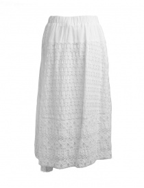 Plantation skirt in white lace