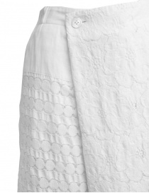Plantation skirt in white lace price
