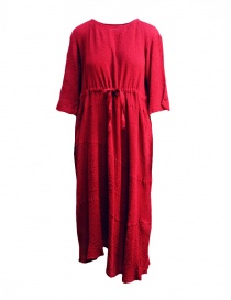 Plantation red asymmetrical hem long dress online