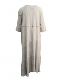 Plantation grey long asymmetrical hem dress