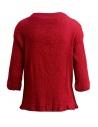 Maglietta Plantation manica tre quarti in crepe di cotone rossoshop online camicie donna