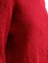 Maglietta Plantation manica tre quarti in crepe di cotone rosso PL97FN143 RED prezzo