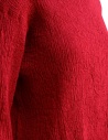 Plantation three-quarter sleeve t-shirt in red cotton crepe PL97FN143 RED price