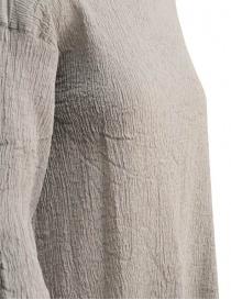 Plantation 3/4 sleeve grey crepe t-shirt price