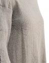 Plantation 3/4 sleeve grey crepe t-shirt PL97FN143 GREY price