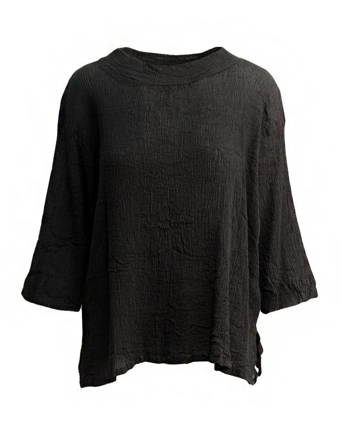 Maglietta Plantation manica tre quarti nera PL97FN143 BLACK camicie donna online shopping