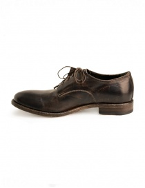 Shoto brown horse leather shoes