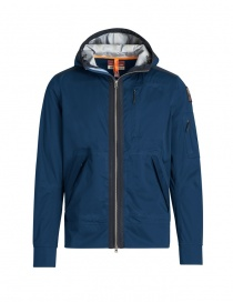 Parajumpers Yakumo navy jacket with hood PMJCKST12 YAKUMO 707 NAVY order online