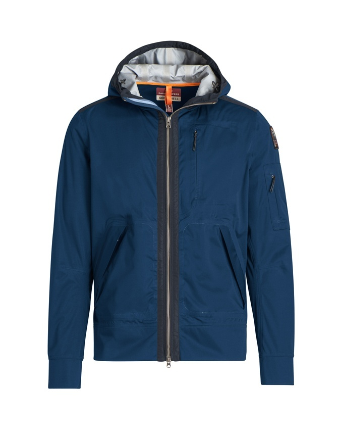 Parajumpers Yakumo navy jacket with hood PMJCKST12 YAKUMO 707 NAVY mens jackets online shopping