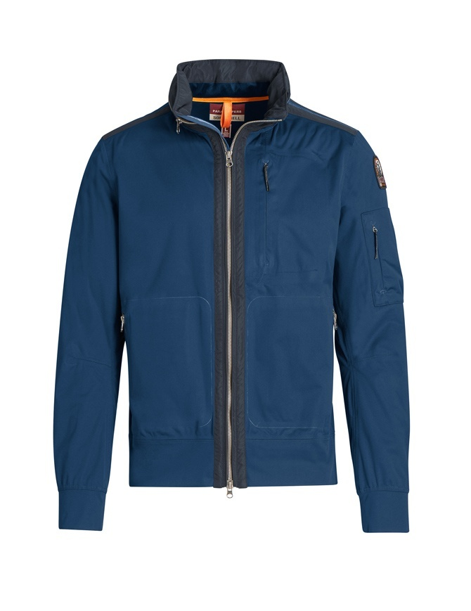 Giacca Parajumpers Tsuge blu navy PMJCKST11 TSUGE 707 NAVY giubbini uomo online shopping