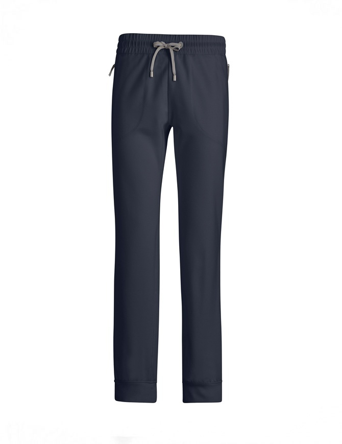 Pantalone Parajumpers Shala colore blu PWFLERT33 SHALA 562 NAVY pantaloni donna online shopping