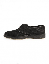 Adieu Type 1 shoe in black perforated fabric buy online