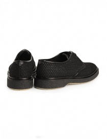 Adieu Type 1 shoe in black perforated fabric price
