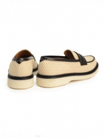Adieu Type 5 loafer in natural perforated fabric price