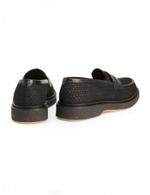 Adieu Type 5 loafer in black perforated fabric price
