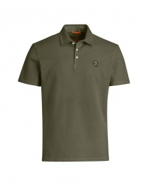 T shirt uomo online: Polo Parajumpers Hung colore khaki