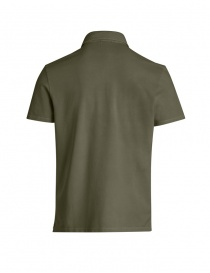 Parajumpers Hugh khaki polo shirt buy online