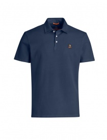 Parajumpers Hung navy polo shirt PMFLEPO05 HUGH 562 NAVY order online