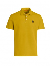 T shirt uomo online: Polo Parajumpers Hugh colore curry