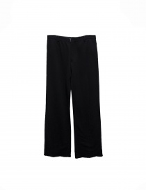 Carol Christian Poell black fleece pants online