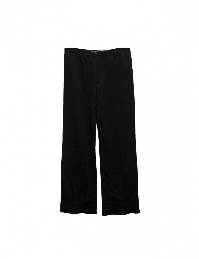 Carol Christian Poell black fleece pants PM/1708 mens trousers online shopping
