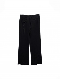 Carol Christian Poell black fleece pants