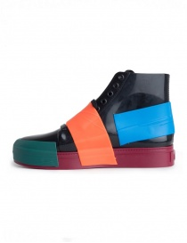 Sneakers Melissa in PVC nero