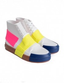 Womens shoes online: Melissa sneakers in white PVC