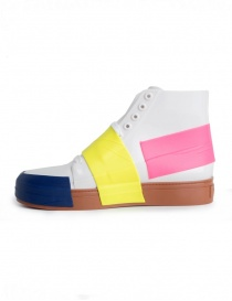 Sneakers Melissa in PVC colore bianco
