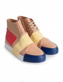 Womens shoes online: Melissa sneakers in beige PVC