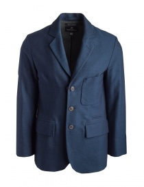 Mens suit jackets online: Nigel Cabourn men'se navy jacket