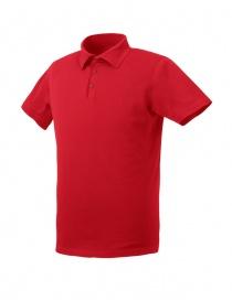 Polo AllTerrain By Descente Commute colore rosso t shirt uomo acquista online