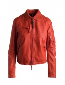 Womens jackets online: Parajumpers Brigadier red paprika jacket