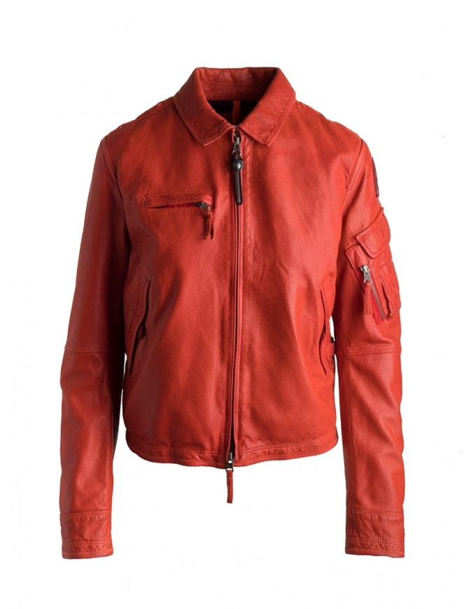 Parajumpers Brigadier red paprika jacket PWJCKLE31 STALKER LEA 730 PAPR womens jackets online shopping