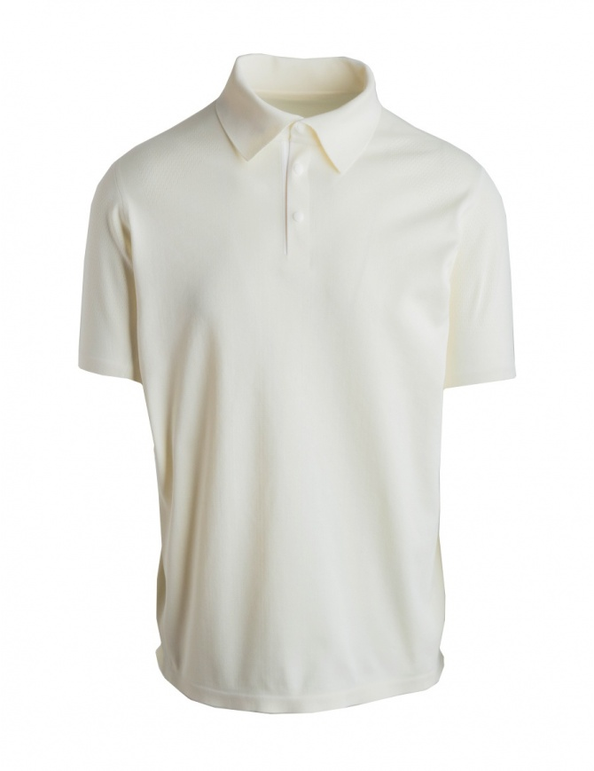 Allterrain By Descente Fusionknit Commute white polo DAMNGA13-WHFL mens t shirts online shopping