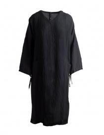 Abito Sara Lanzi a tunica nero con lacci online